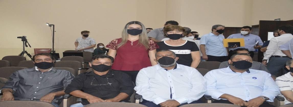 Vereadores participaram de reunião da AMNAP