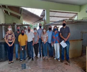 Poder Legislativo e Executivo visitaram as obras realizadas no município